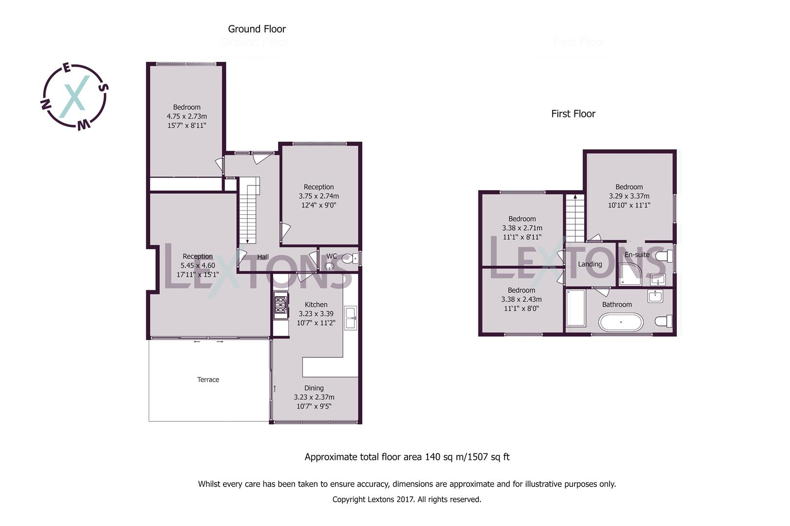 Floorplans For St. Helens Crescent, Hove