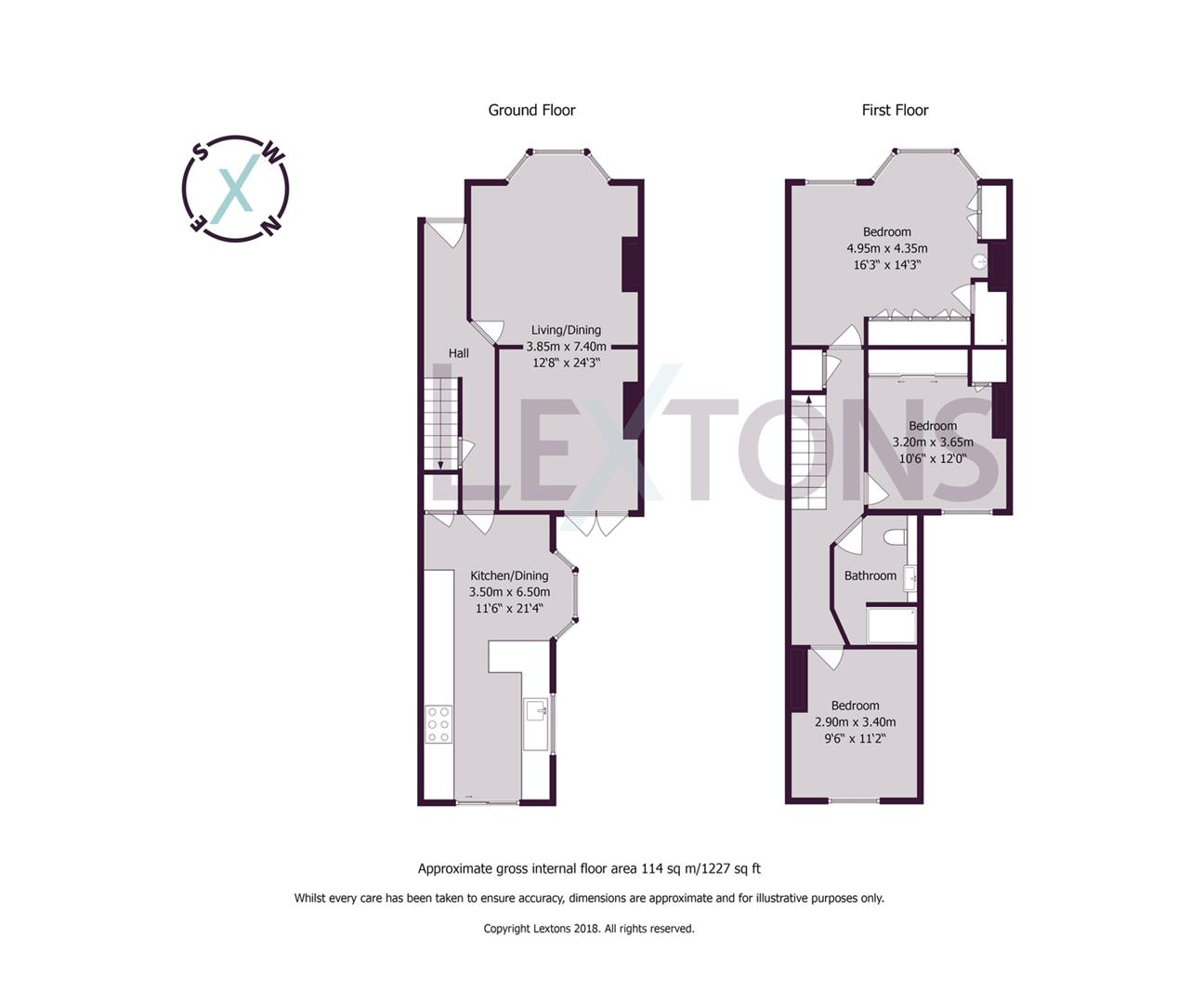 Floorplans For Cross Road, Southwick, Brighton