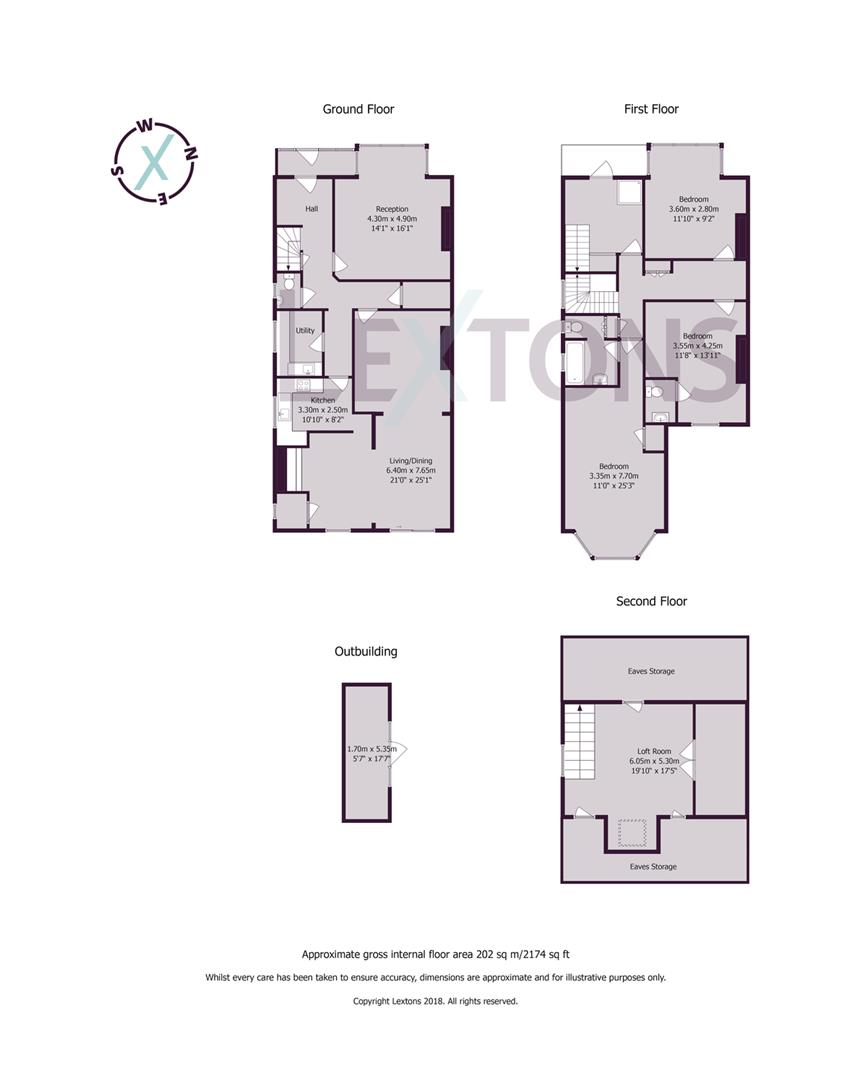 Floorplans For Carlisle Road, Hove
