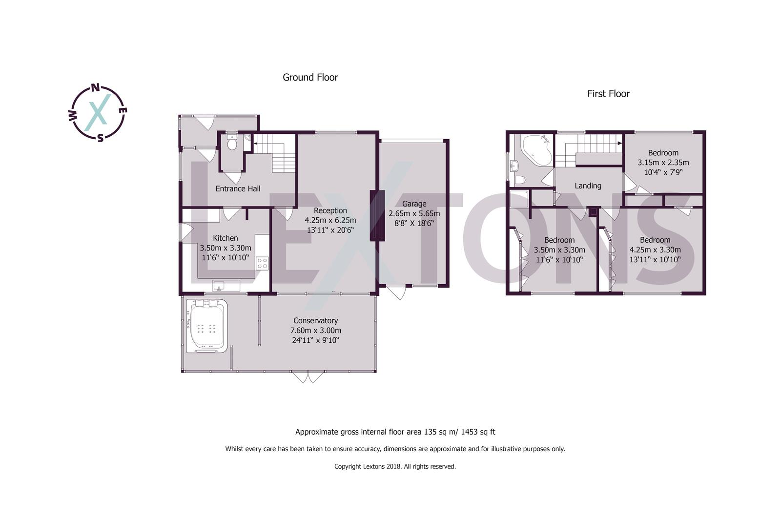 Floorplans For Glebe Close, Southwick, Brighton