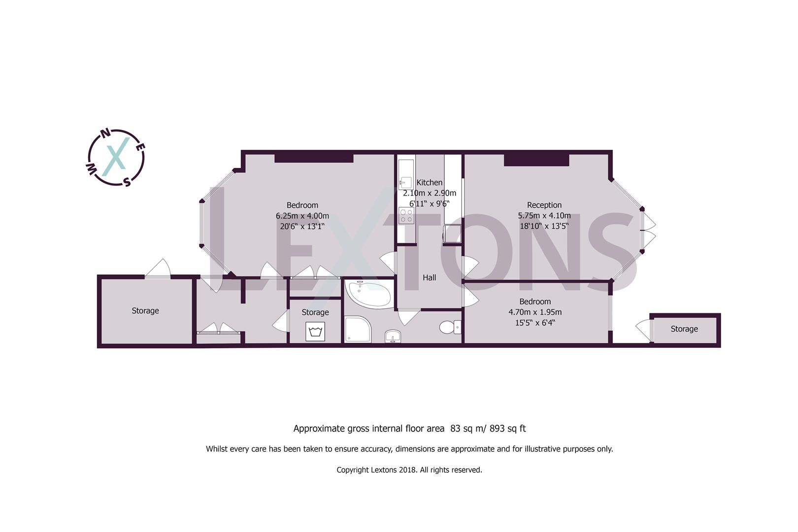 Floorplans For St. Aubyns, Hove