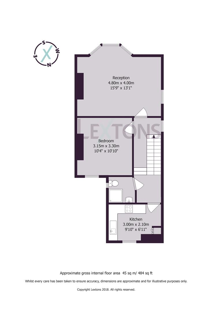 Floorplans For Coleridge Street, Hove