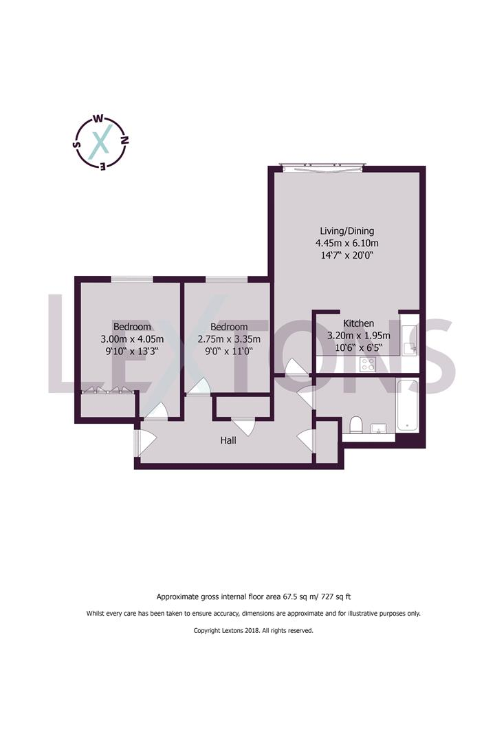 Floorplans For New Church Road, Hove