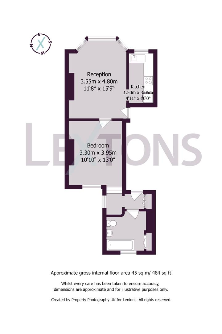 Floorplans For Lansdowne Street, Hove