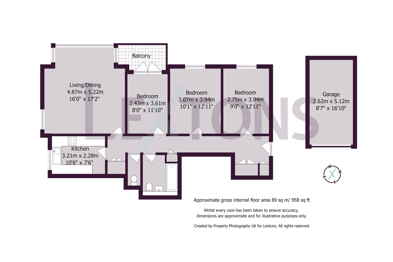Floorplans For York Avenue, Hove
