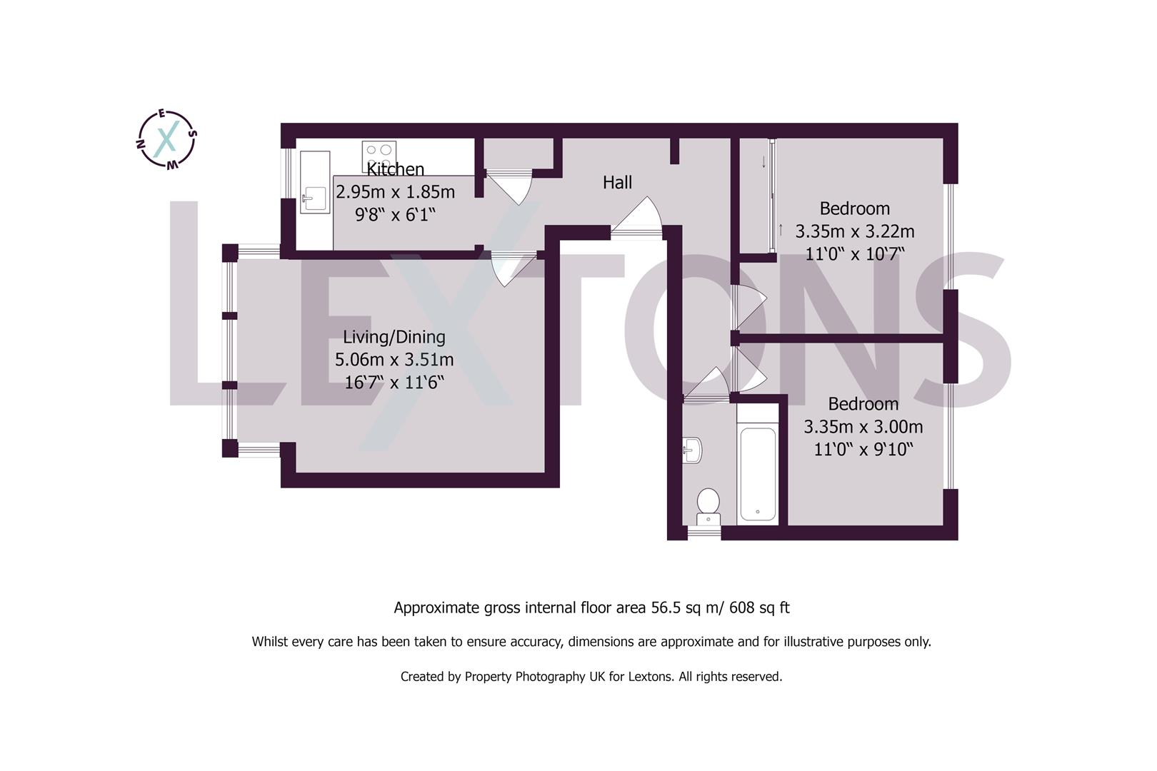Floorplans For Lawrence Road, Hove