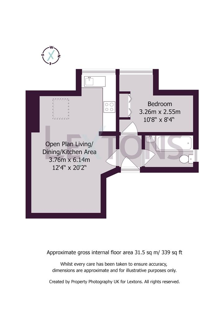 Floorplans For Beaconsfield Villas, Brighton