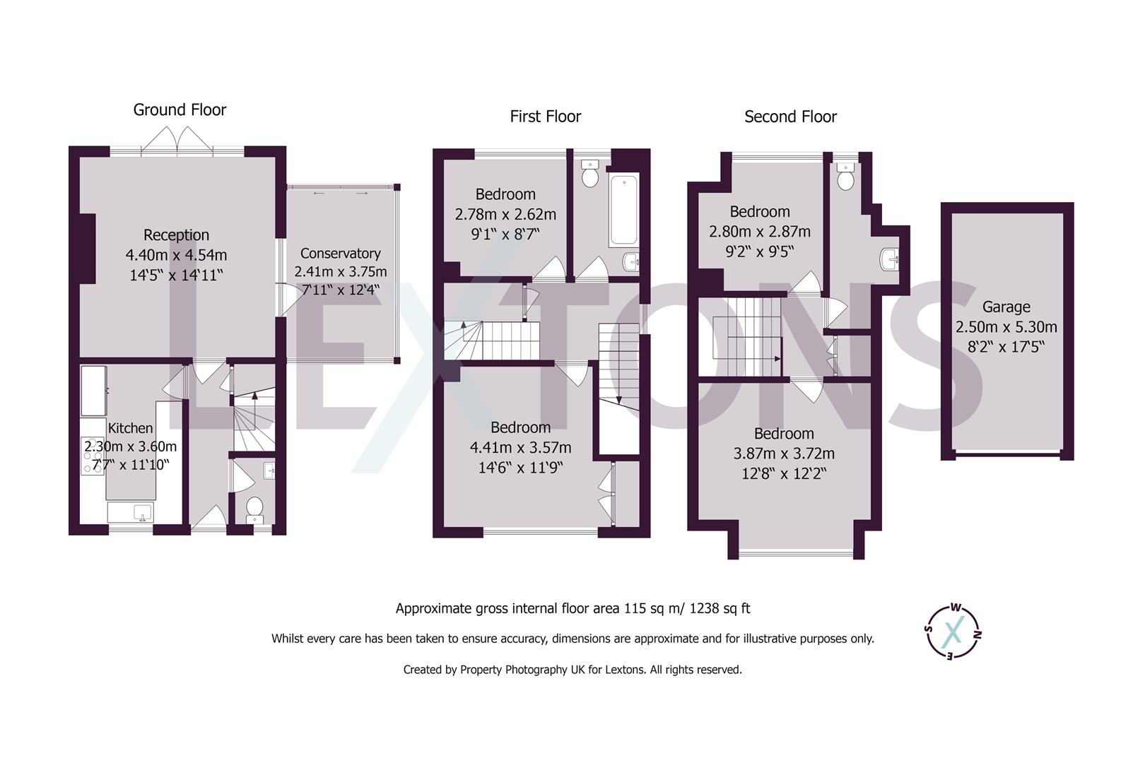 Floorplans For Cornwall Gardens, Brighton