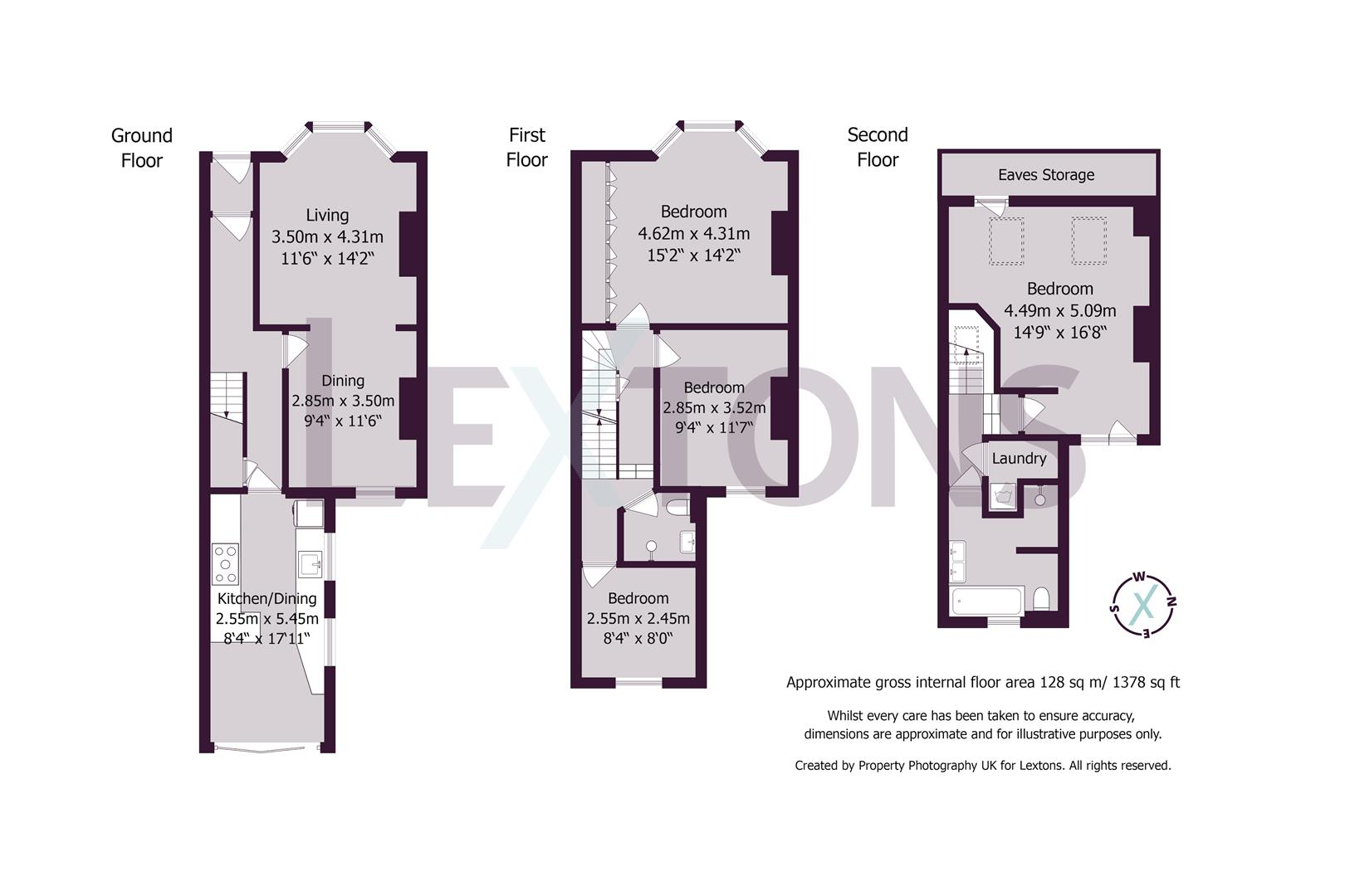 Floorplans For Shelley Road, Hove