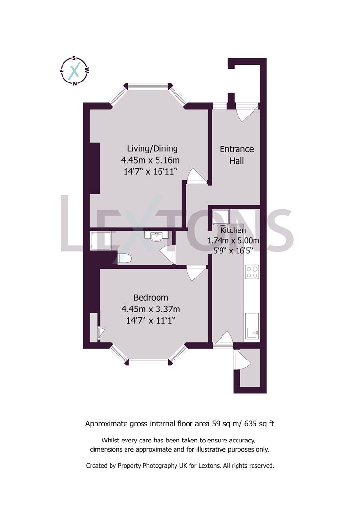 Floorplans For Buckingham Place, Brighton