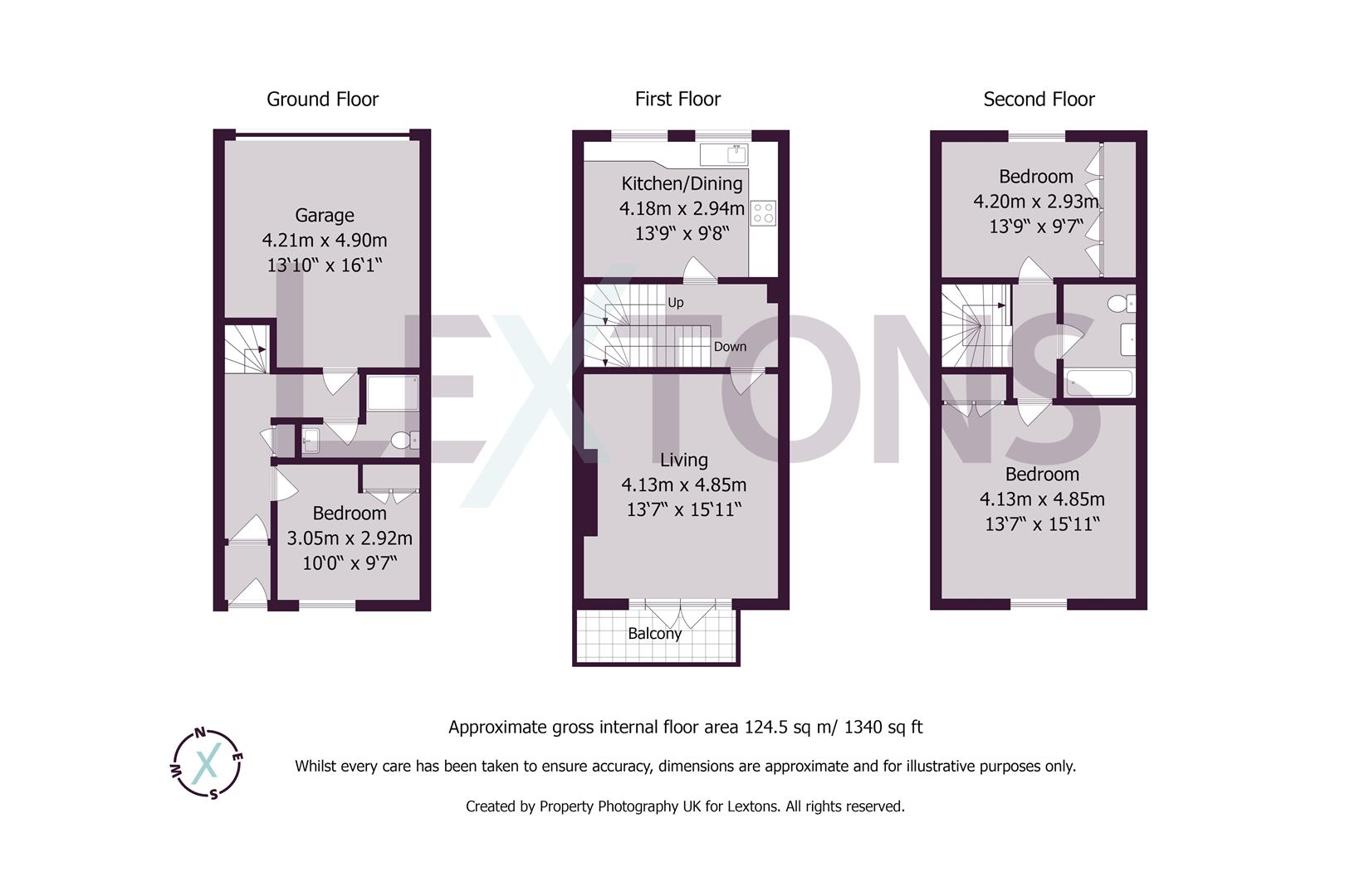 Floorplans For Palmeira Avenue, Hove