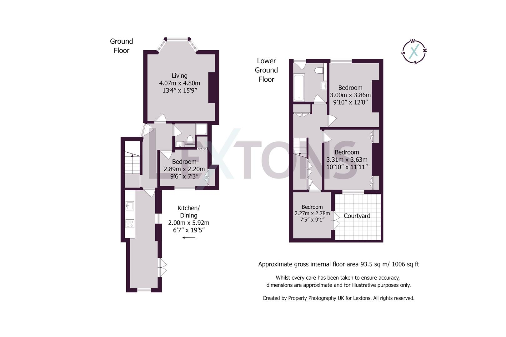 Floorplans For Bloomsbury Place, Brighton