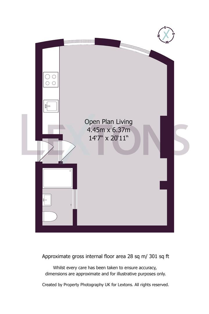 Floorplans For Brunswick Place, Hove
