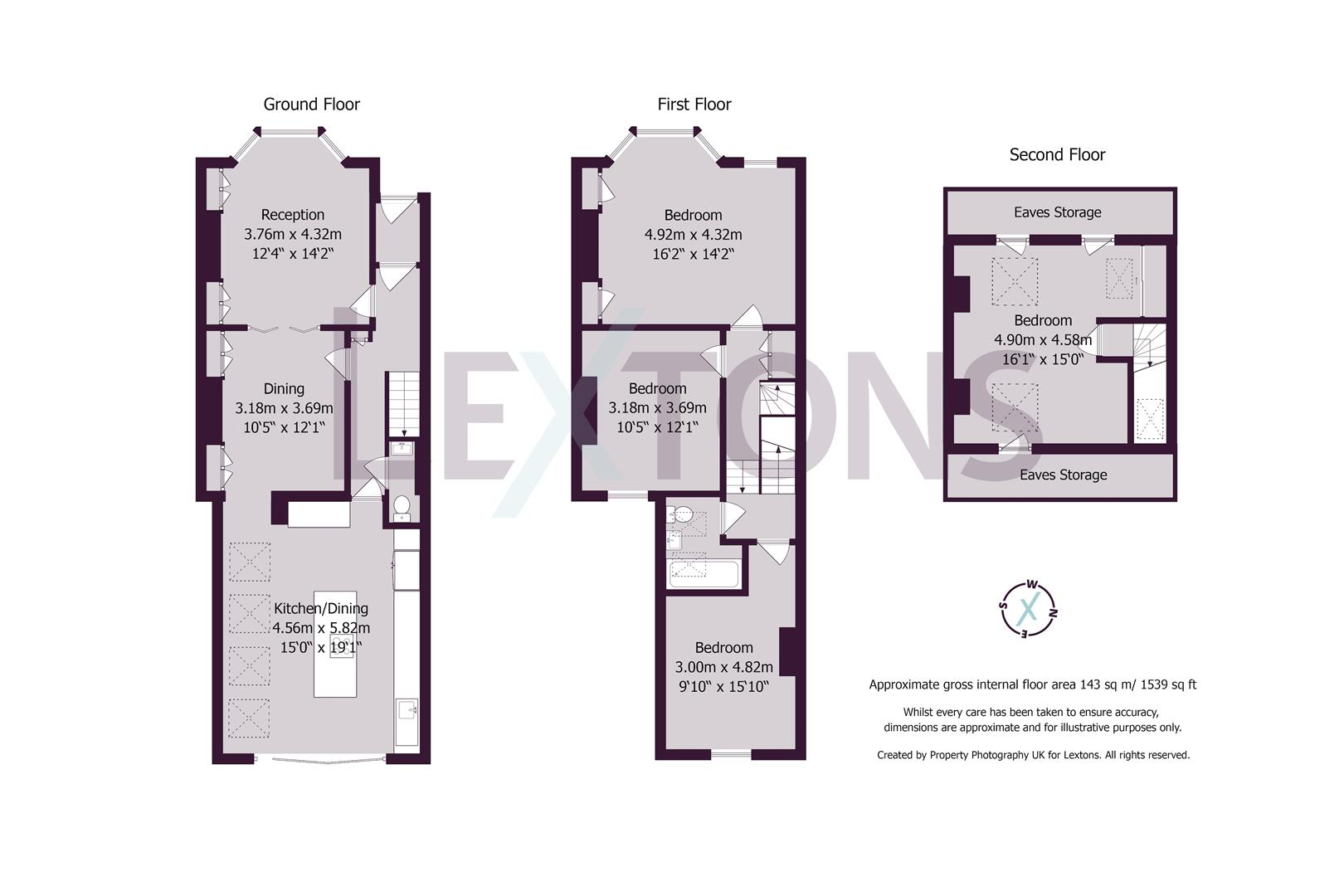 Floorplans For Waldegrave Road, Brighton