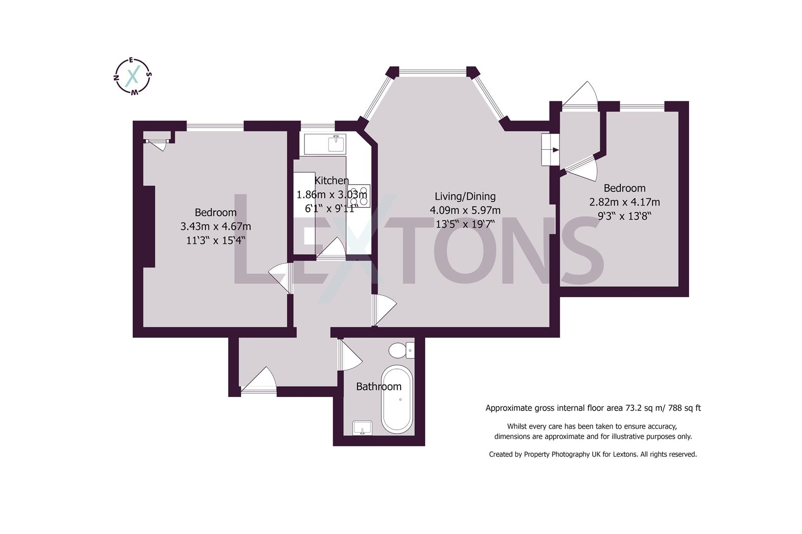 Floorplans For Albany Villas, Hove