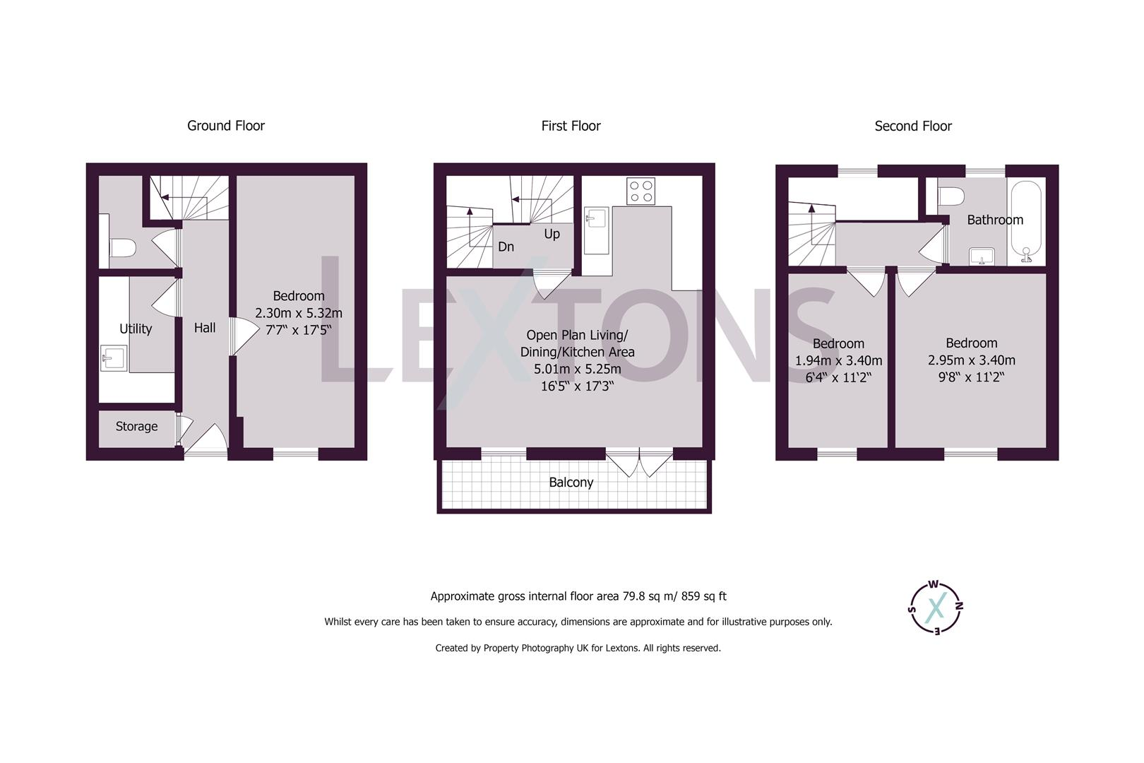 Floorplans For Wynnes Mews, Hove