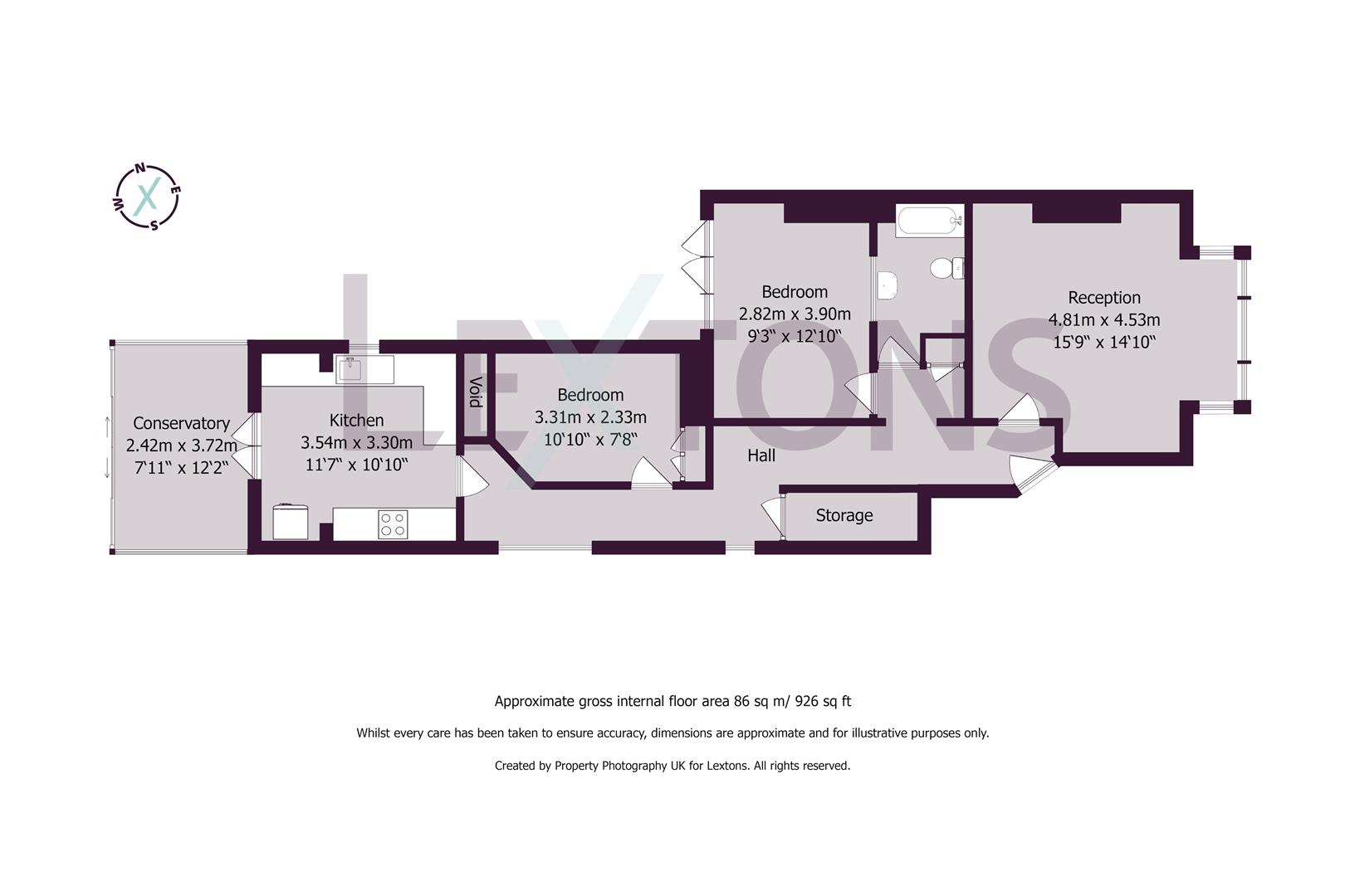 Floorplans For Rutland Gardens, Hove