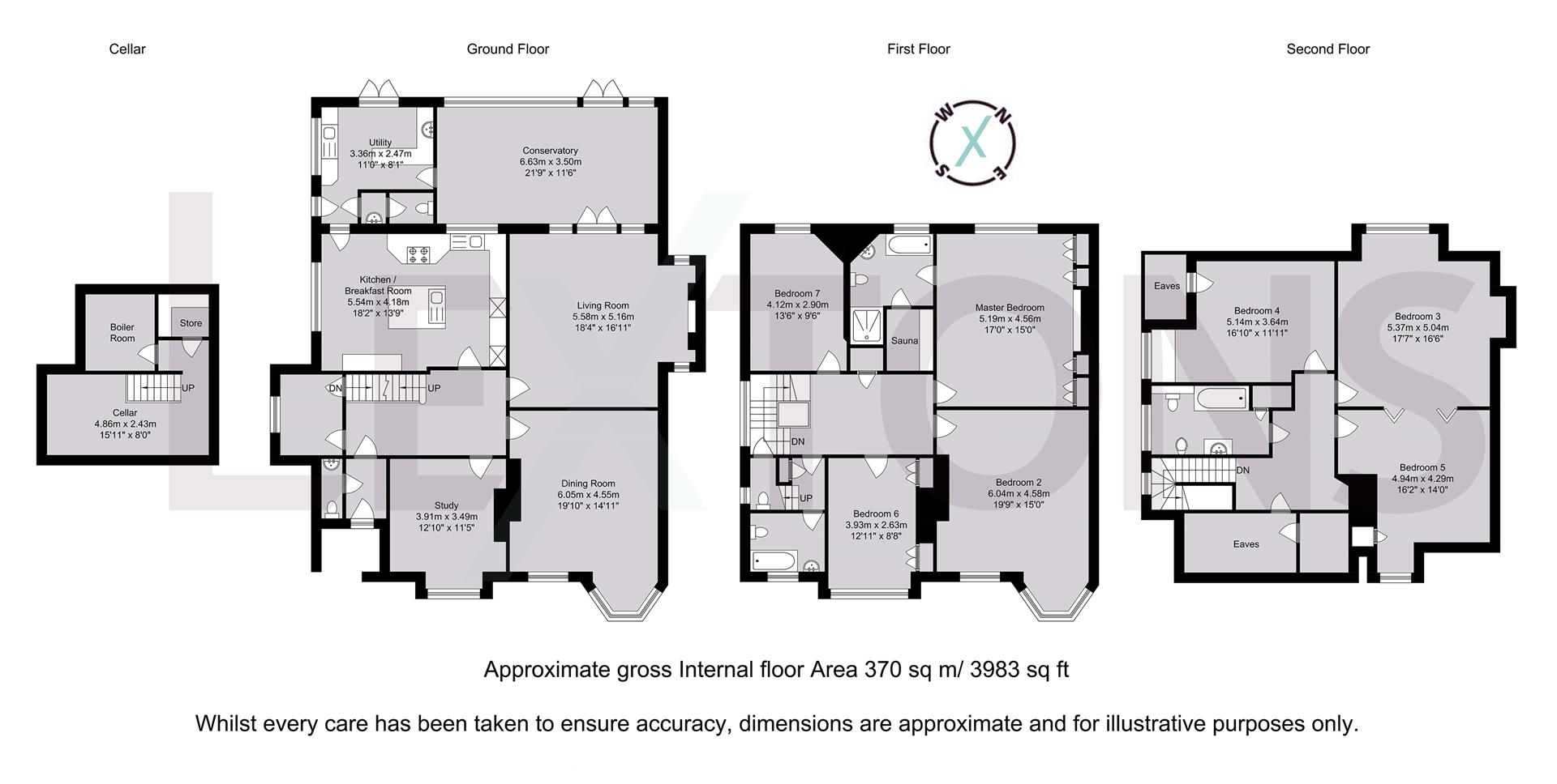 Floorplans For The Drive, Hove