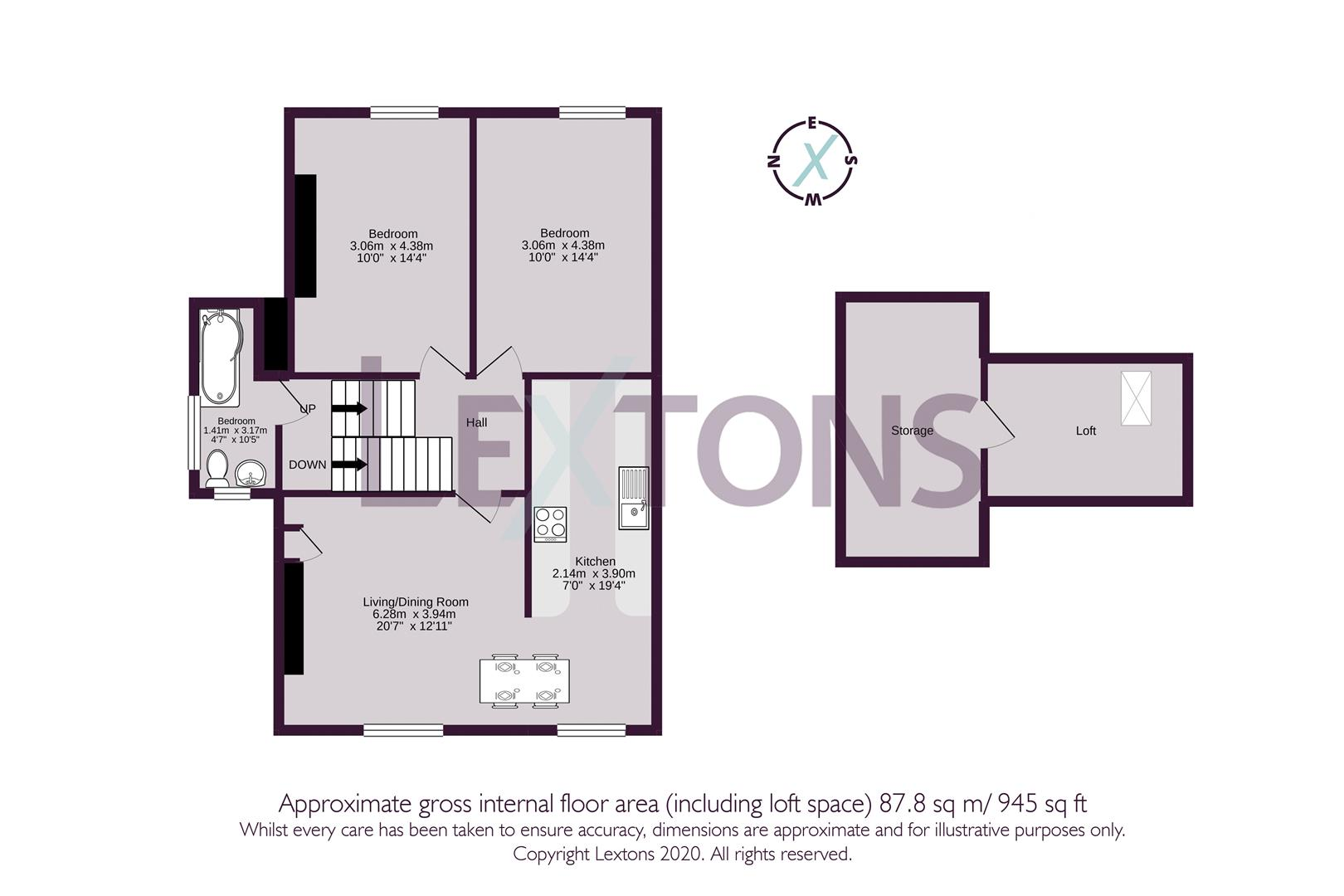 Floorplans For Selborne Road, Hove