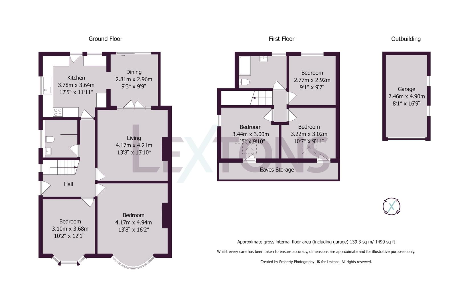Floorplans For Sunninghill Avenue, Hove
