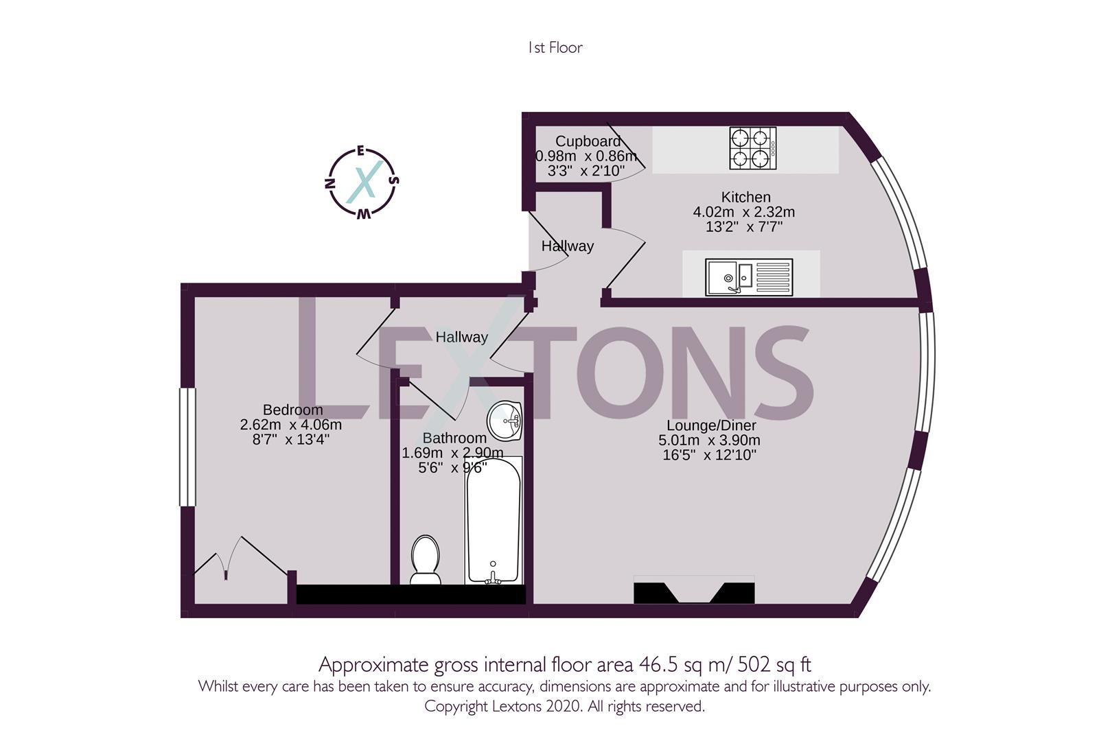 Floorplans For Montpelier Place, Brighton