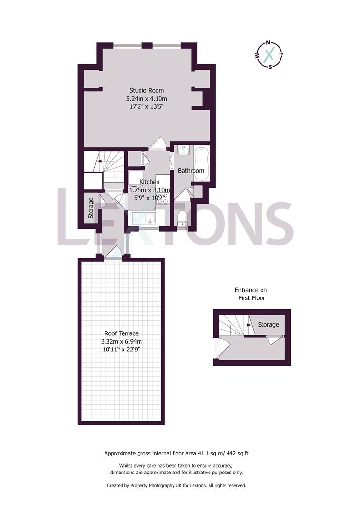 Floorplans For Stirling Place, Hove