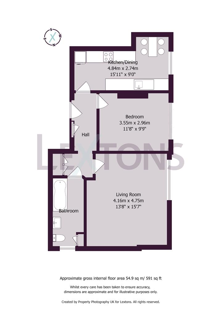 Floorplans For Second Avenue, Hove