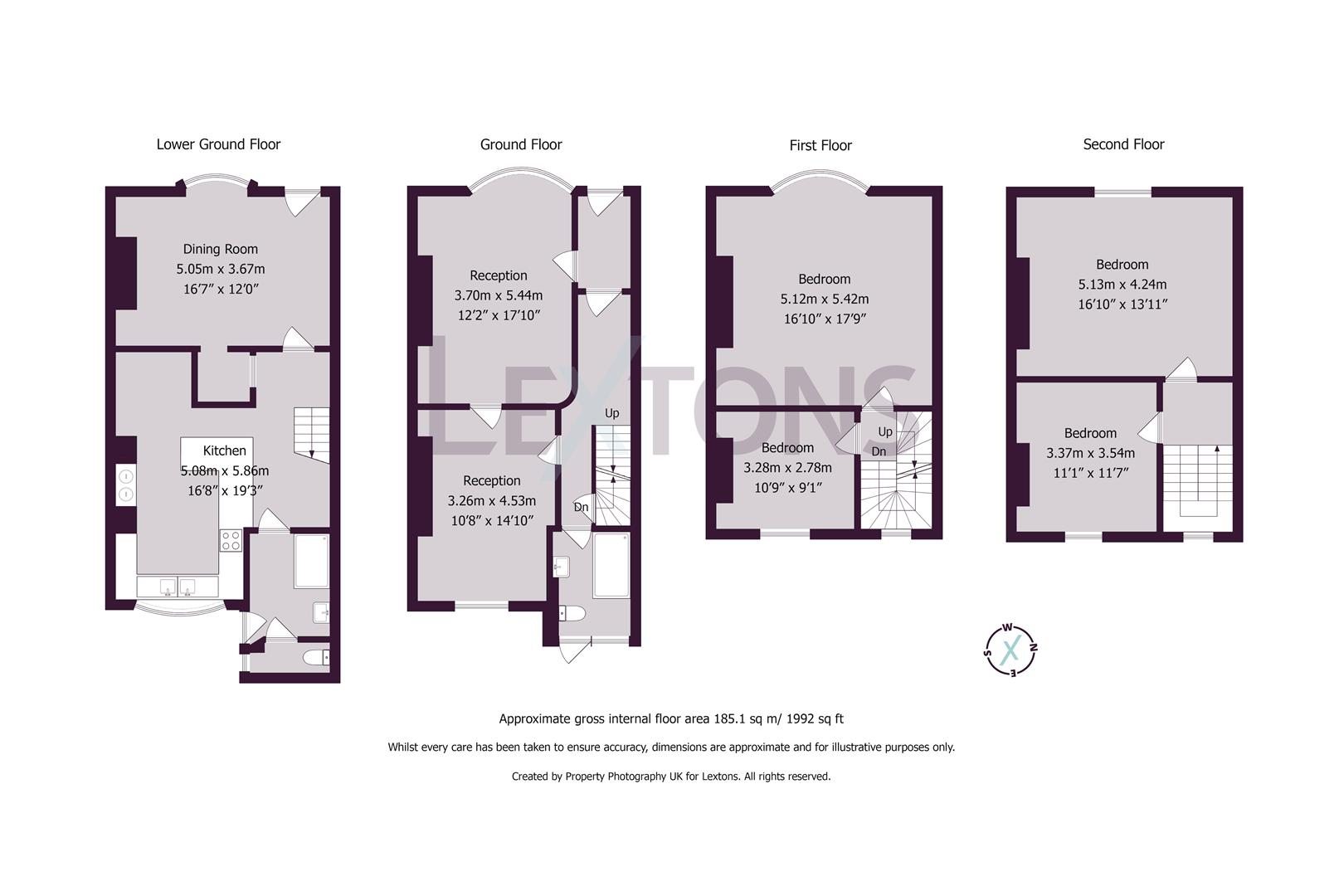 Floorplans For Hampton Place, Brighton