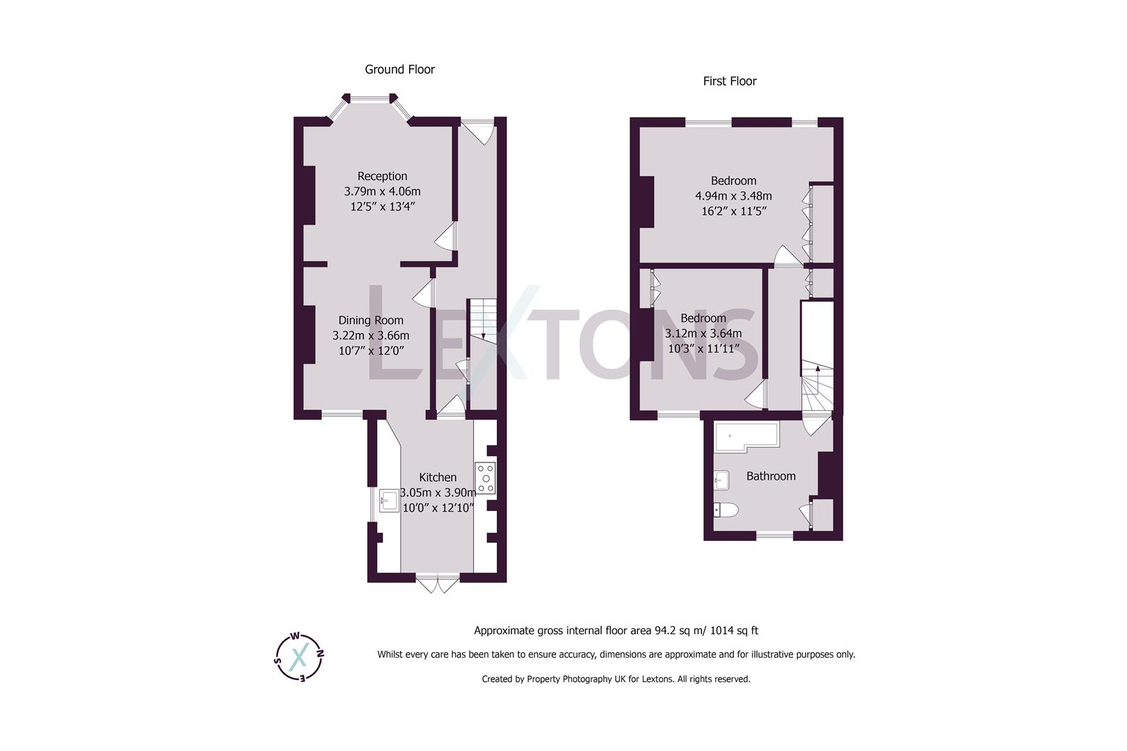 Floorplans For St. Leonards Avenue, Hove