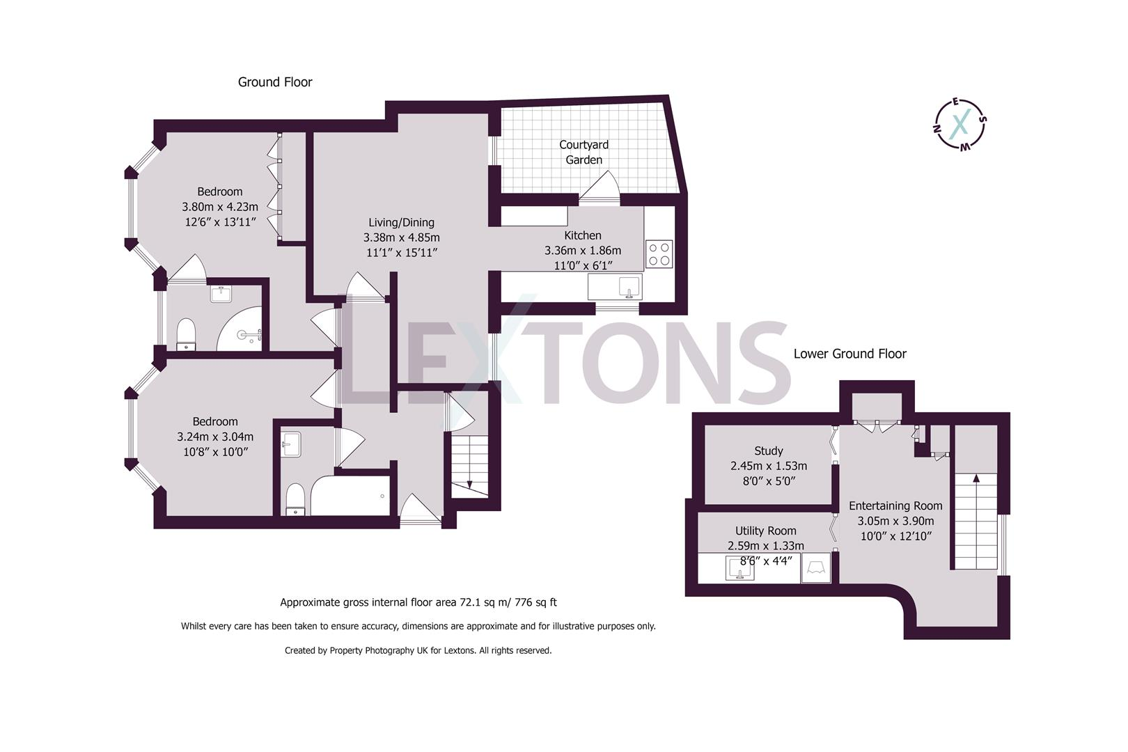 Floorplans For Powis Grove, Brighton