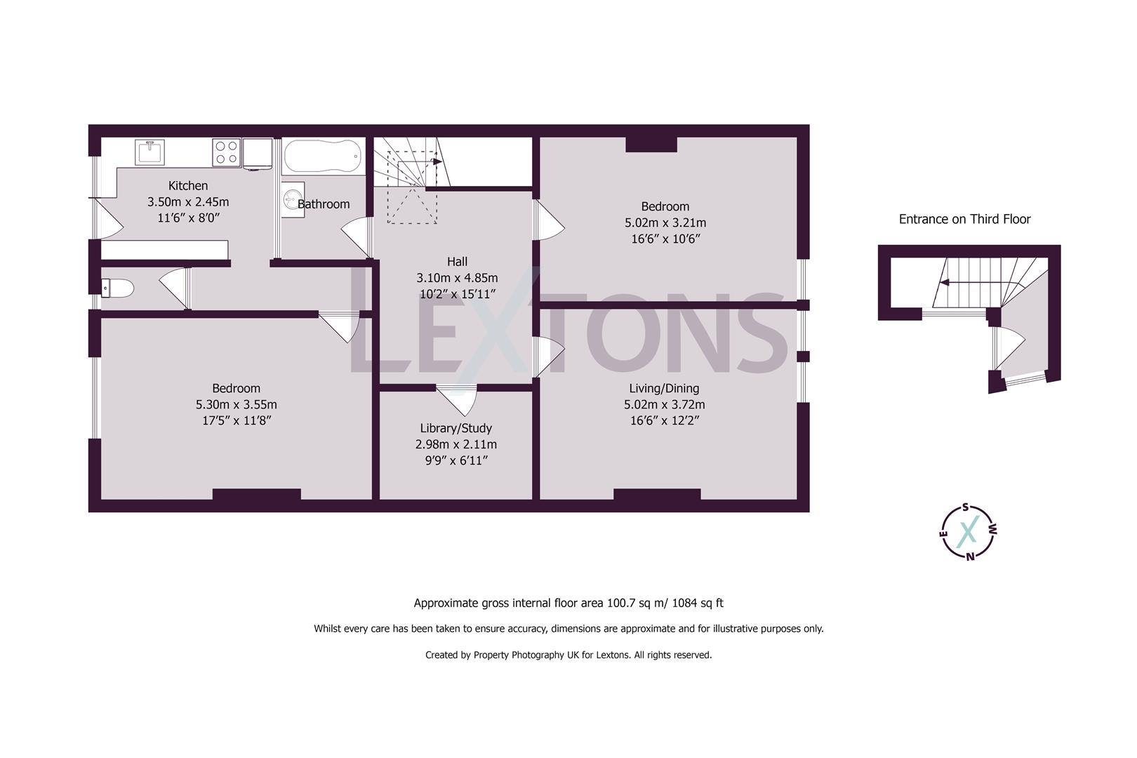 Floorplans For Palmeira Square, Hove