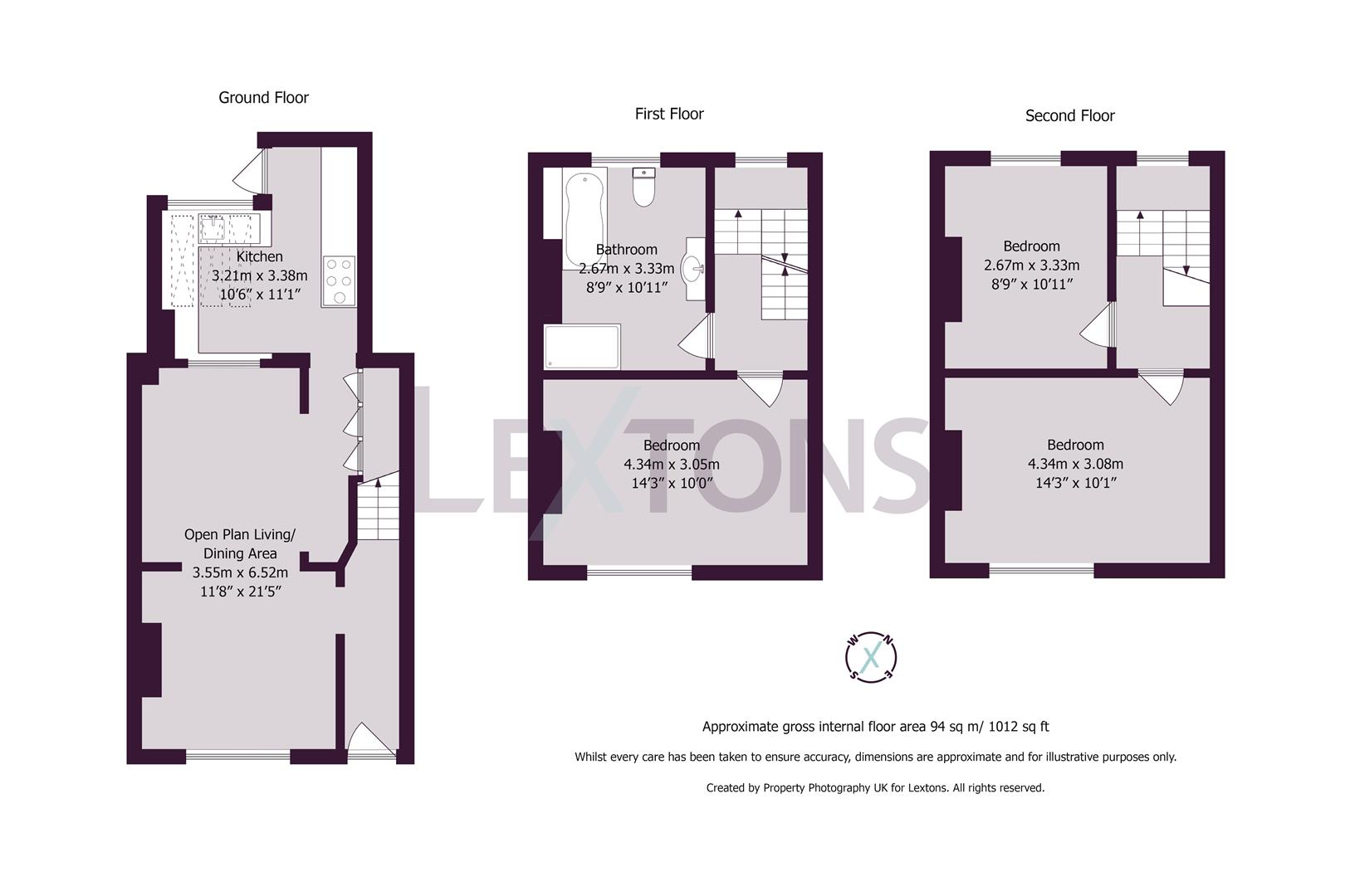 Floorplans For Whichelo Place, Brighton