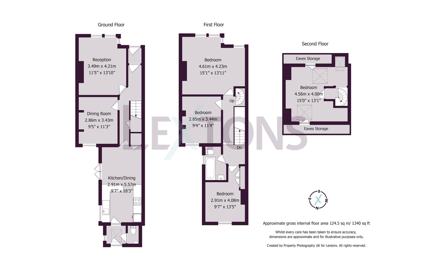 Floorplans For Hollingbury Road, Brighton